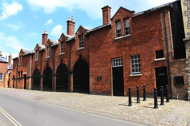 Royal Mews in Windsor /  Кралските конюшни в Уиндзор