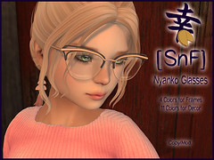 [SnF] Nyanko Glasses Now Available!