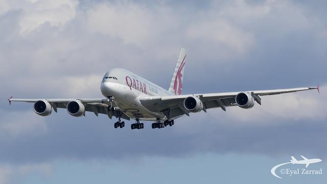 LHR - Qatar Airways Airbus A380-800 A7-APB