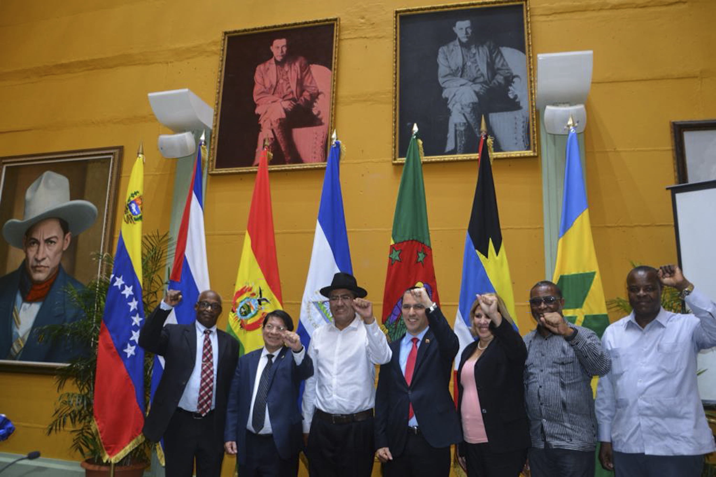 Canciller Diego Pary desde el ALBA- TCP: La derecha boliviana y la OEA buscaban sólo argumentos para concretar el golpe de Estado