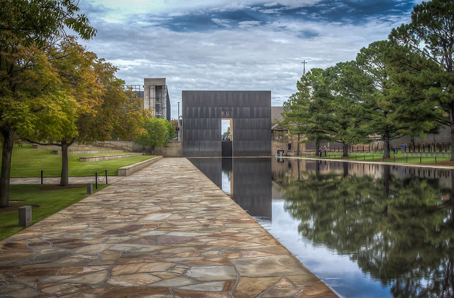 Oklahoma City National Memorial & Museum Reflecting Pool