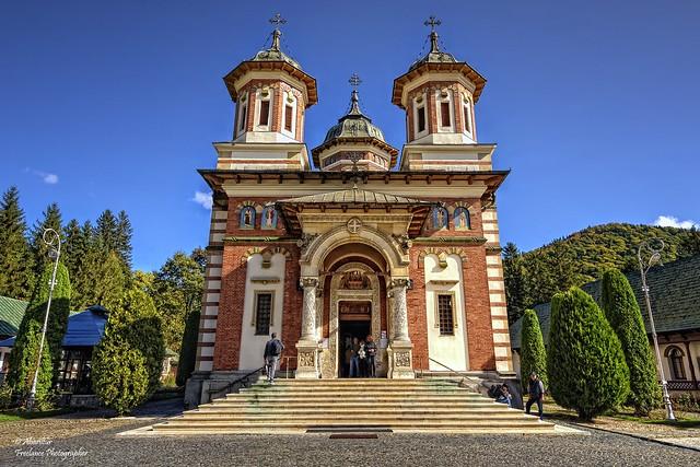 The Great Church at the Sinaia Monastery (II). Romania
