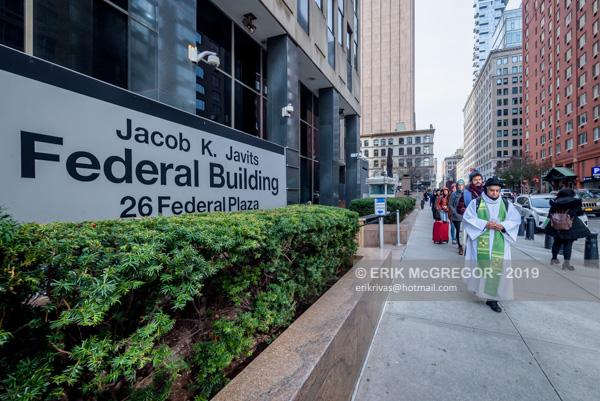 Jericho Walk vigil outside immigration court