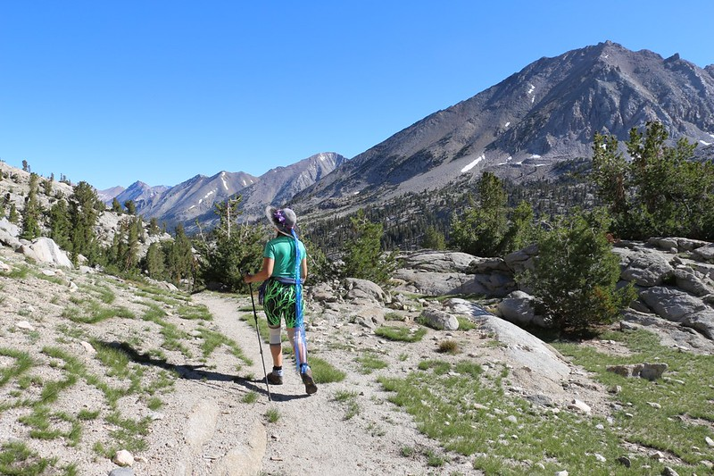 It's another beautiful day in the High Sierra as we day-hike up the 60 Lakes Trail