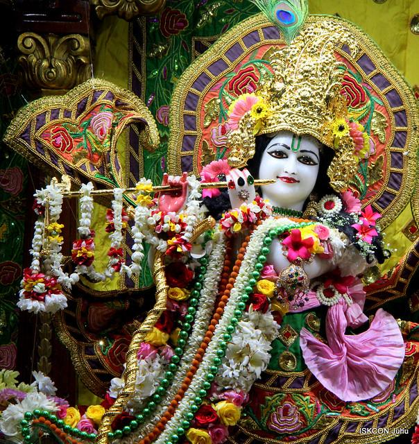 ISKCON Juhu Sringar Deity Darshan on 15th Nov 2019