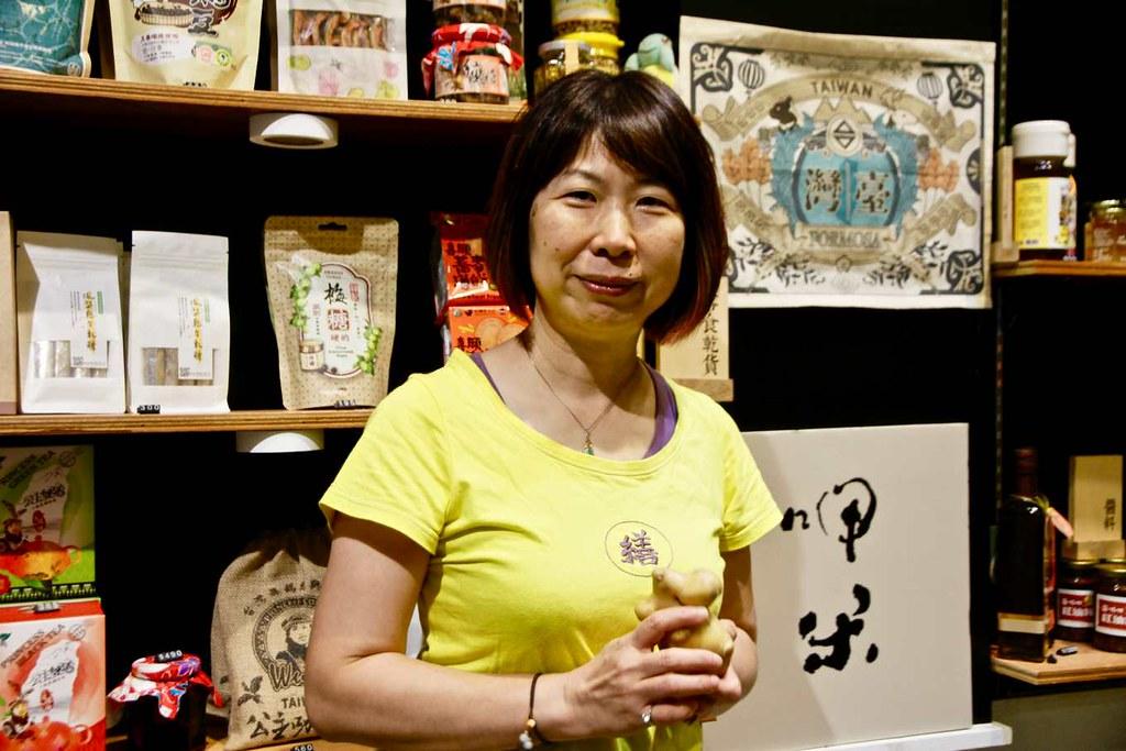 呷米蔬食餐廳執行長王淑珍