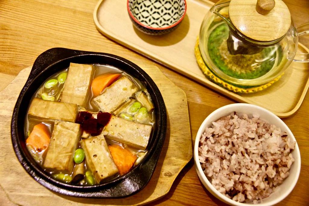 客家桔醬燒豆腐