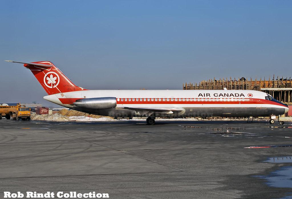 Air Canada DC-9-32 CF-TLX