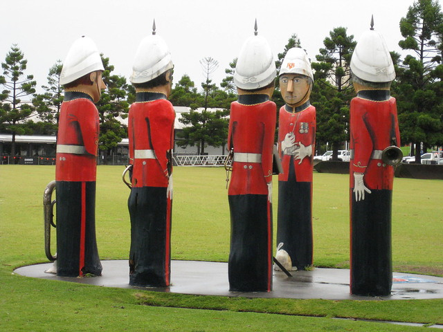 The Volunteer Rifle Band Bollards - Geelong Waterfront Esplanade