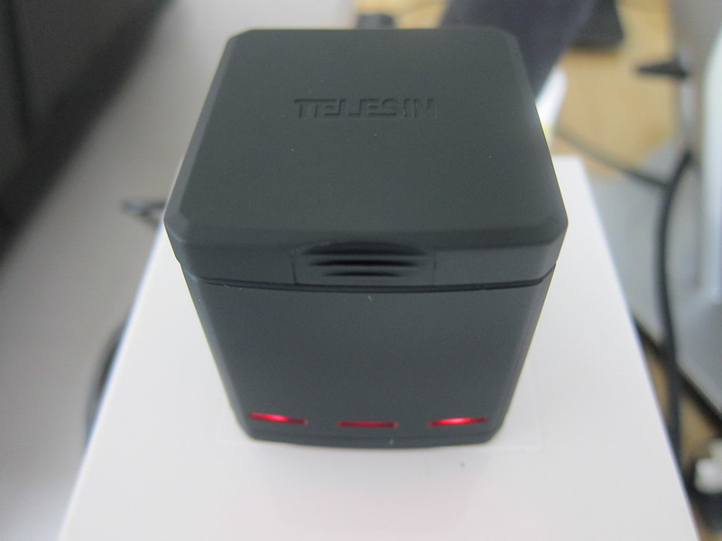 Telesin 3-Channel Charging Box - 3x Front LEDs