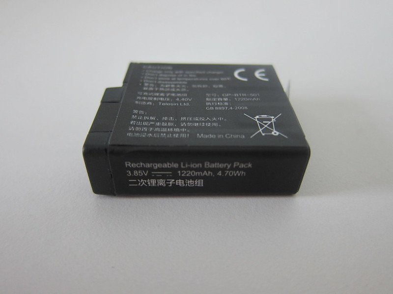 Telesin GoPro Battery - Side