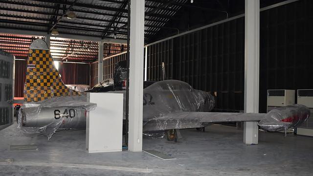 Lockheed T-33A Shooting Star c/n 580-9405 Thailand Air Force serial F11-23/13 code 640 & 1132
