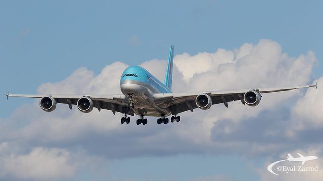 LHR - Korean Air Airbus A380-800 HL7619