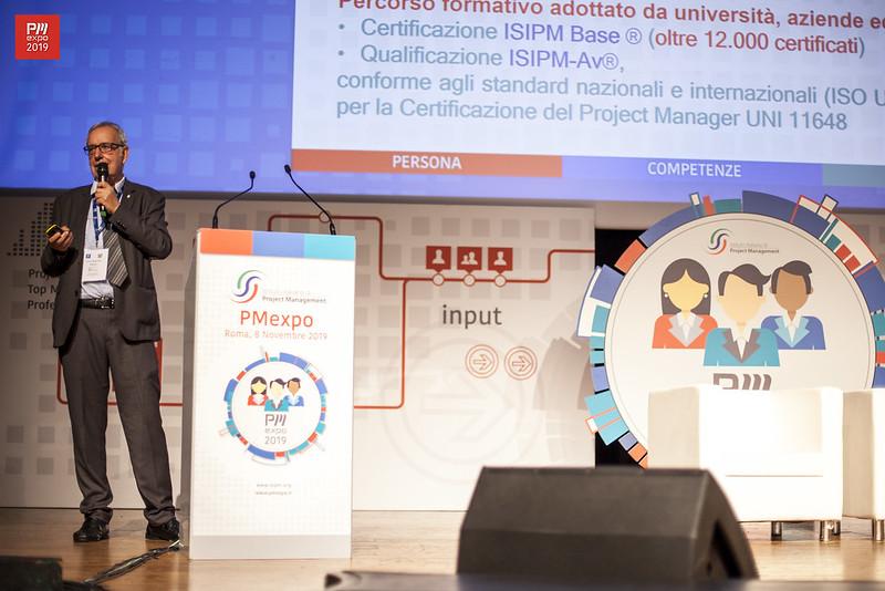 Enrico Mastrofini, Presidente ISIPM