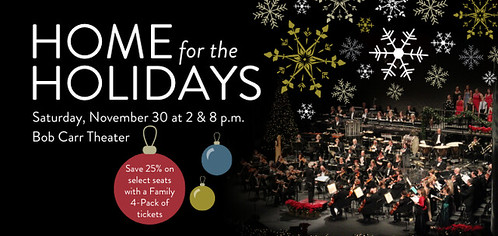 """Home for the Holidays"" with the Orlando Philharmonic"