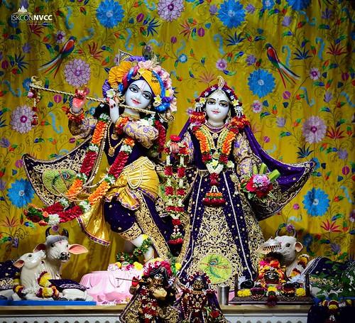 ISKCON Pune NVCC Deity Darshan 15 Nov 2019