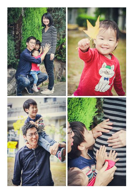 マタニティフォト ファミリーフォト ロケーション撮影 愛知県豊田市の公園