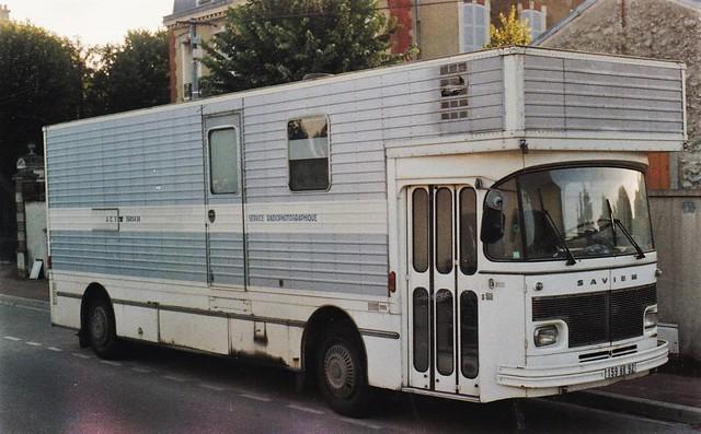 Saviem S53 ACS La Courneuve (93 Seine St Denis) 1988a
