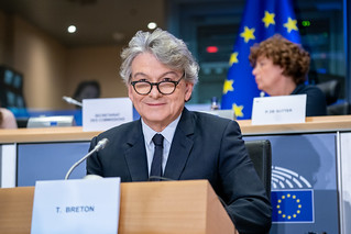 Hearing of Commissioner-designate Thierry Breton | by European Parliament