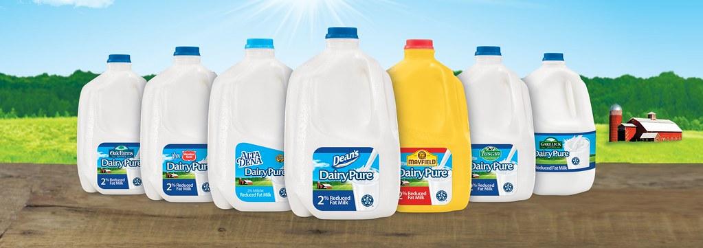 美國牛奶業者迪恩食品(Dean Foods)。圖片來源Dean Foods新聞稿