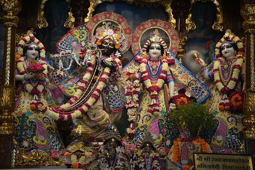 ISKCON Ujjain Deity Darshan 15 Nov 2019
