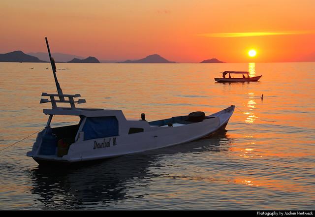 Sunset, Labuan Bajo, Flores, Indonesia