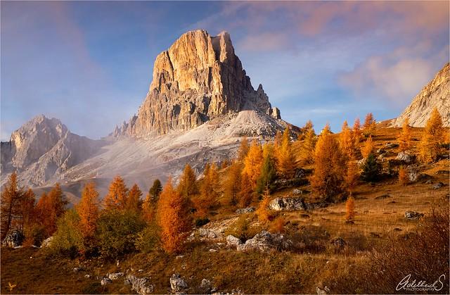 Averau Autumn, Dolomites, Italy