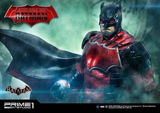 Prime 1 Studio 蝙蝠俠:阿卡漢騎士《正義聯盟3000》蝙蝠俠 1/5 比例全身雕像(ジャスティス・リーグ3000 バットマン)EX版