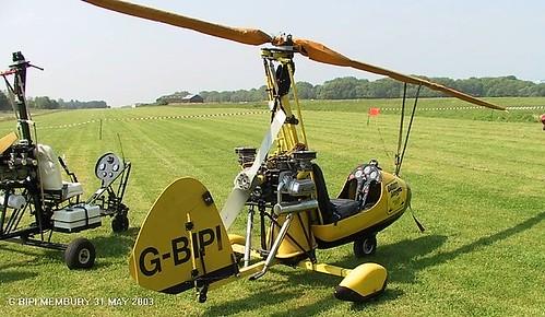 G-BIPI at Membury