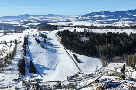 Branná - rodinné lyžování uBandity