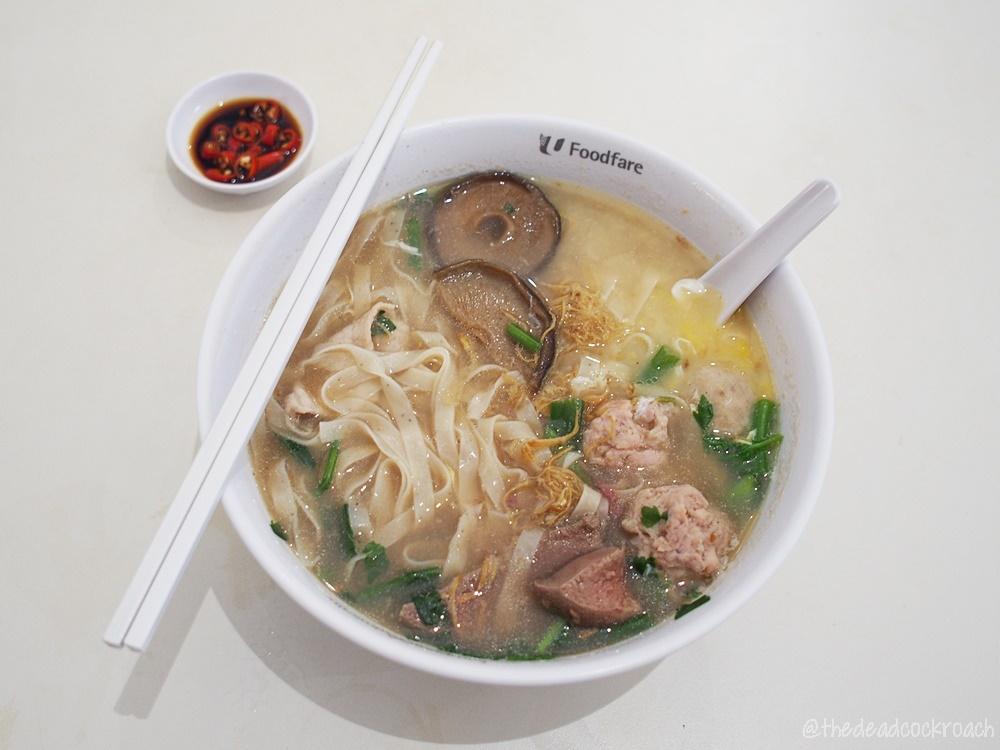 chye lye ah ma mee sua, food, food review, kampung admiralty hawker centre, review, ayam panggang, singapore, social enterprise, 再来阿嬤麵線