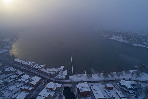 friday tgif fbf snow snowy snowing snowstorm lakeeffect life nature landscape drone aerial skaneateles flx 2019 dji phantom4 winter november