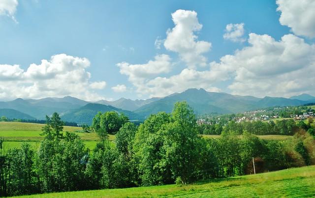 2012-08-18 Olczysko - widok na Tatry (1)