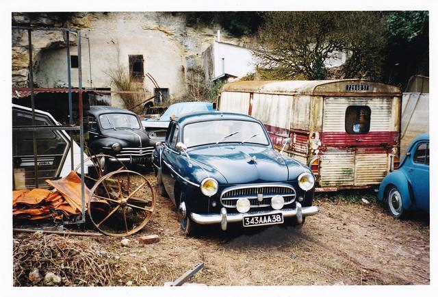 Renault Frégate Vallées de Vaugadeland Nazelles - Négron (37 Indre et Loire) 17-02-2003a