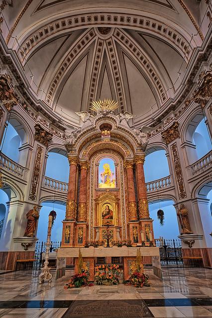 The Virgin of the Consol, Altea - Church