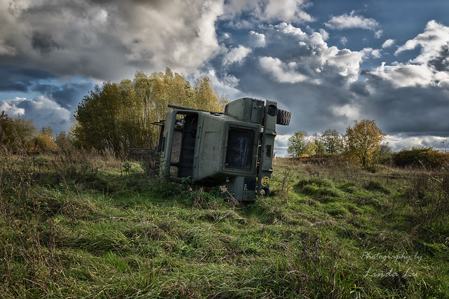 Abandoned Military Truck