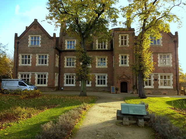 Eastbury Manor House on an Autumn Afternoon