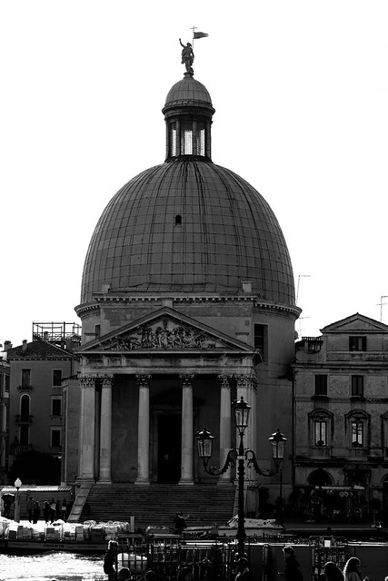 Venice   black and white photography