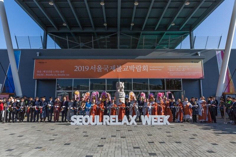 Orang Kunjungi Expo Agama Buddha 2019 di Seoul