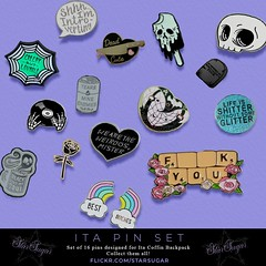 Ita Pin Set.