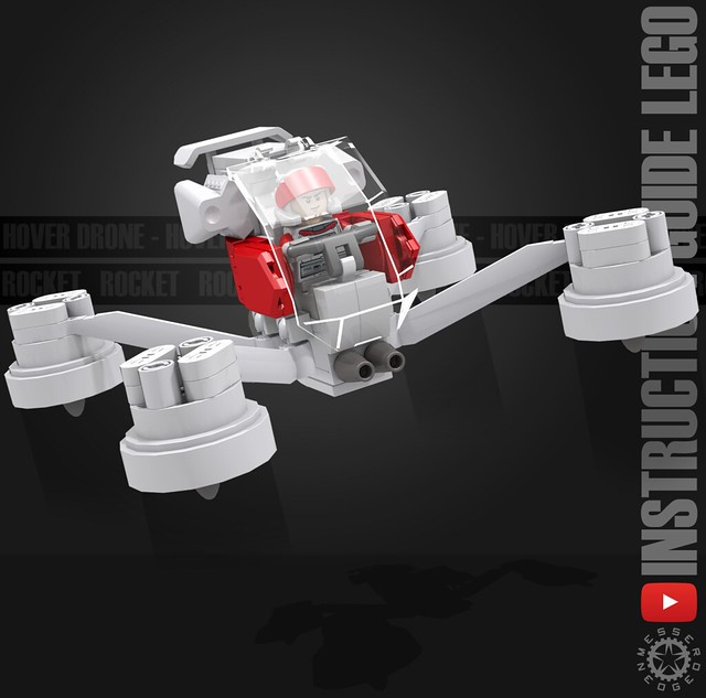 Hover Drone - Instruction guide Flckr