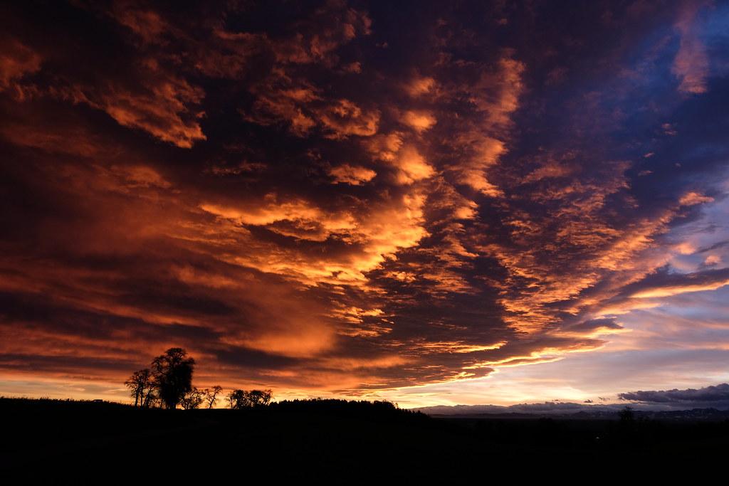 Sunrise in Wels