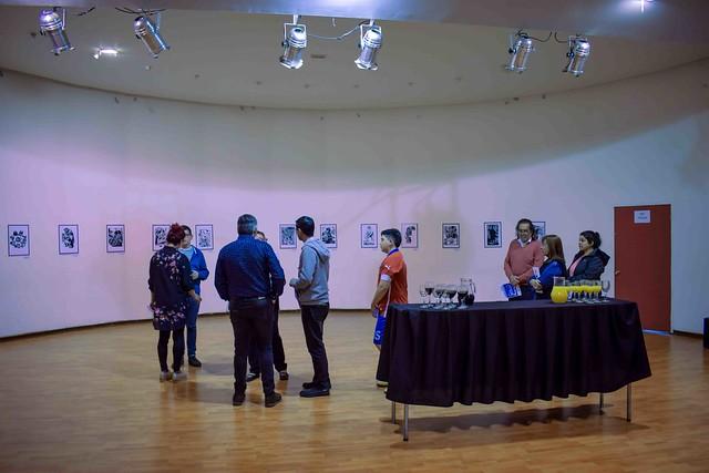 Exposición de Xilografía de Roberto Ampuero
