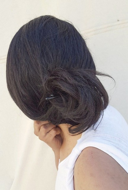 تسريحة شعر سهلة  لف الشعر  شعر ملفوف  Esay hairstyle  Connect hair  Hair roll  #hair  #style #stylish #longhair #nice #hairstyle #fashion #beautiful #beauty #model #modern #sexyhair #roll #hairstylist #haircut