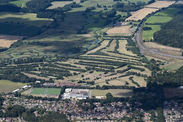 Norwich Wensum Valley Golf Club - Norwich aerial image