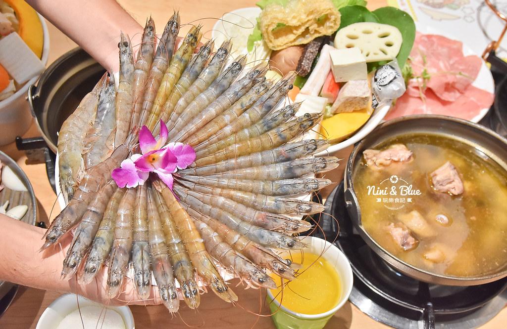 台中火鍋 大樂鍋 蝦蝦痛風鍋 海鮮鍋15