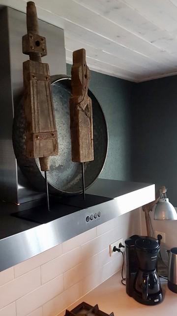 Keuken landelijk sober ornamenten
