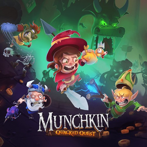 Thumbnail of Munchkin: Quacked Quest on PS4