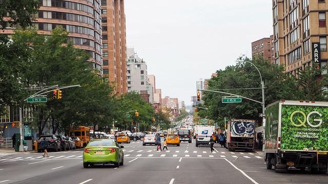 Looking towards East Harlem