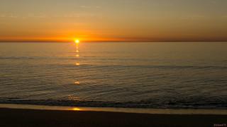 Sunrise, Lever du soleil, Espagne, Costa Del Sol, Torremolinos - 2319